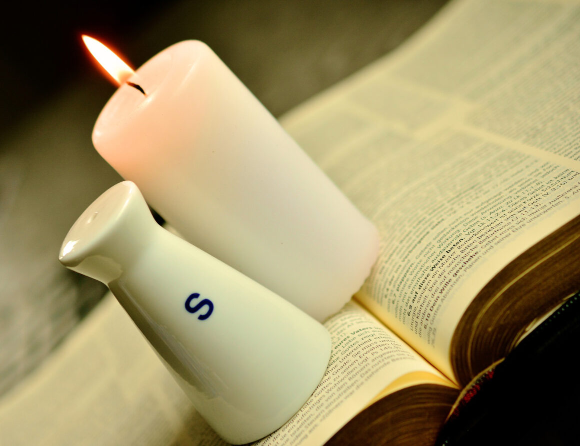 """Be Salty,"" Matthew 5:13-16 | Amanda Mackie"
