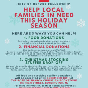 Christmas Community Outreach