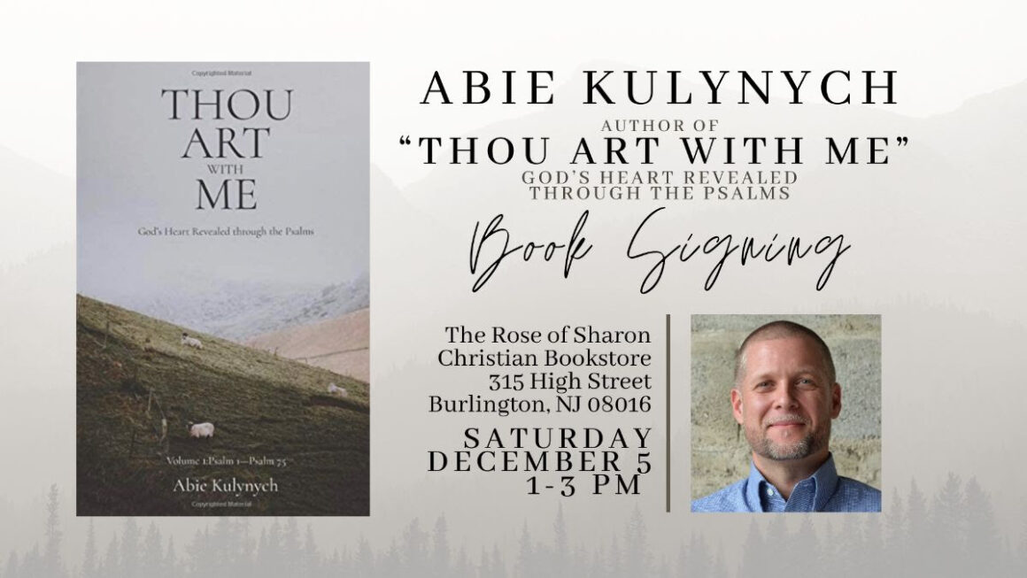 Abie's Book Signing: Saturday, December 5th