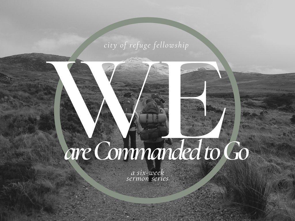 """We Are Called to Go,"" Matthew 28:18-20, John 16"